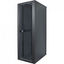 "INT 713115 FLATPACK 19"" 32U (1653x600x600) NETWORK RACK BLACK"