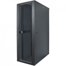 "INT 713122 FLATPACK 19"" 32U (1653x600x800) NETWORK RACK BLACK"