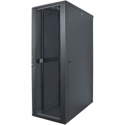 "INT 713122 ASSEMBLED 19"" 32U (1653x600x800) NETWORK RACK BLACK"
