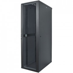 "INT 713146 FLATPACK 19"" 36U (1728x600x600) NETWORK RACK BLACK"