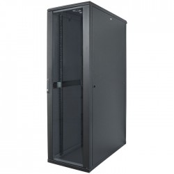 "INT 713153 FLATPACK 19"" 36U (1728x600x800) NETWORK RACK BLACK"