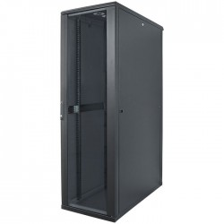 "INT 713184 ASSEMBLED 19"" 42U (2057x600x800) NETWORK RACK BLACK"