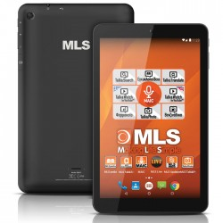 "MLS LIFE BLACK 10.1"" QUAD CORE"