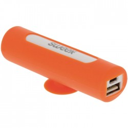 SWEEX SW2500 PB001 ORANGE POWER BANK 2500mAh