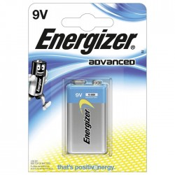 ENERGIZER 9V-6LR61 ADVANCED                        F016450