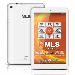"MLS BRIGHT WHITE 10.1"" QUAD CORE"