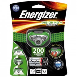 ENERGIZER VISION HD+ HEADLIGHT 5LED & 3xAAA   F016320