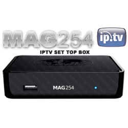 MAG254 IPTV Set Top Box