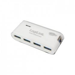 Hub USB 3.0 + PSU Logilink UA0171