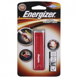 ENERGIZER METAL POCKET LIGHT 2x2032        F081082