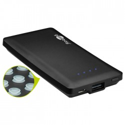 44826 SUCTION CUP POWER BANK 4000mAh