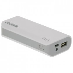 SWEEX SW4000 PB002 WHI Power Bank 4000 mAh USB