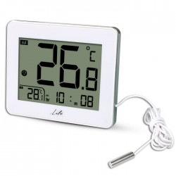 LIFE WES-202 Indoor/outdoor thermometer,White