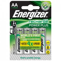 ENERGIZER AA-HR6/2000mAh/4TEM POWER PLUS RECHARGEABLE    F016480