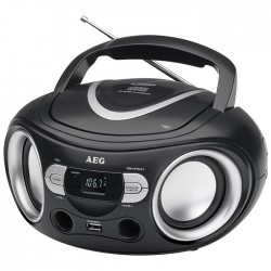SR 4374 RADIO CD/USB/MPS BLACK 400678