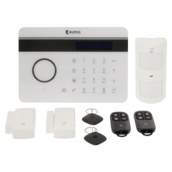 SAS-ALARM 300 Wireless Alarm Set GSM / PSTN - 433 Mhz / 95 dB