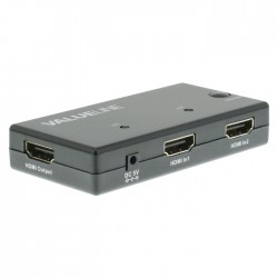 VLVSW 3402 HDMI Switch 2x HDMI Input - HDMI Output Black