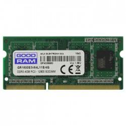 GRAM DDR3L 4GB 1600MHz SODIMM CL11 (PC3-12800) 1.35V / GR1600S3V64L11S/4G