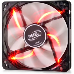 DEEPCOOL WINDBLADE 120 RED COOLING FAN 120mm RED LED