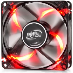 DEEPCOOL WINDBLADE 80 RED COOLING FAN 80mm RED LED
