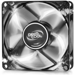 DEEPCOOL WINDBLADE 80 WHITE COOLING FAN 80mm WHITE LED