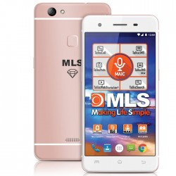 "MLS DIAMOND TS 4G 5,5"" PINK FINGERPRINT DUAL SIM    33.ML.530.221"