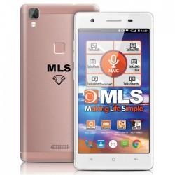 "MLS DIAMOND C8 4G 5"" ROSE/GOLD FINGERPRINT DUAL SIM      33.ML.530.186"