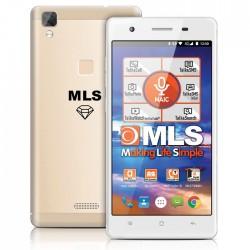 "MLS DIAMOND C8 4G 5"" GOLD FINGERPRINT DUAL SIM  33.ML.530.190"