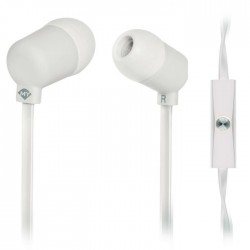 MELICONI 497453 MYSOUND SPEAK FLUO WHITE IN-EAR STEREO HEADSET