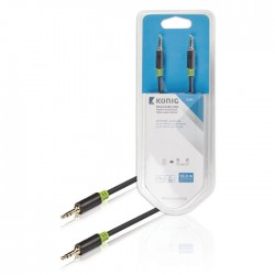 KNA 22000E 10.0 Stereo Audio Cable 3.5 mm Male - 3.5 mm Male 10.0 m Anthracite