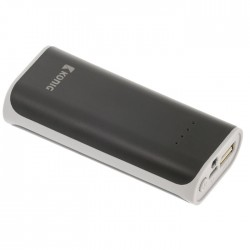 KN PB 5000BL Portable Power Bank 5000 mAh USB Black