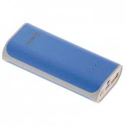 KN PB 5000BU Portable Power Bank 5000 mAh USB Blue