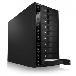 "ICY BOX IB-3810U3 EXTERNAL 10-BAY JBOD SYSTEM FOR  3,5"" USB 3.0 SATA I/II/III"