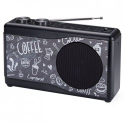 BIGBEN TR23 COFFEE PORTABLE RADIO 4 BANDS