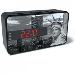 BIGBEN RR15 LIBERTY FM RADIO AND ALARM WITH LED DISPLAY