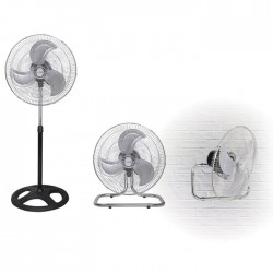 LIFE FS-300 Fan 3 in 1,stand/floor/wall mounted,50W