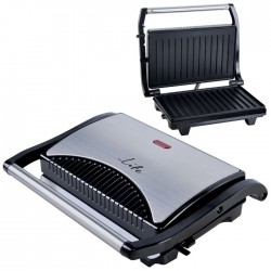 LIFE STG-100 INOX Sandwich toaster with grill plates,700W