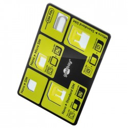 58922 SIM-CARD ADAPTOR SET IN CREDIT CARD FORMAT