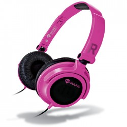 MELICONI 497437 MYSOUND SPEAK SMART FLUO FUCSIA-NERO ON-EAR STEREO HEADSET (WITH