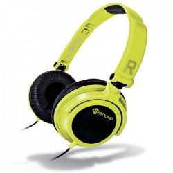 MELICONI 497435 MYSOUND SPEAK SMART FLUO GIALLO-NERO ON-EAR STEREO HEADSET (WITH