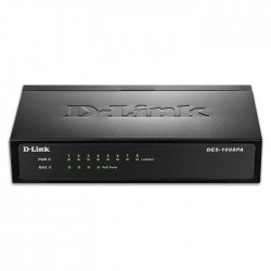 D-LINK DES-1008PA 10/100 ETHERNET 8-PORT SWITCH/4 POE (DESKTOP)