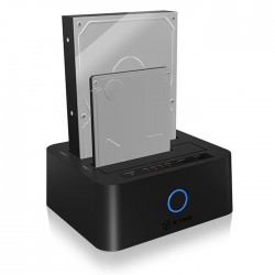 "ICY BOX IB-123CL-U3 JBOD DOCKING AND CLONE STATION 2,5""/3,5"" USB 3.0"