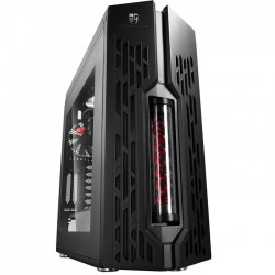 DEEPCOOL GENOME II BK-RD ATX CASE BLACK-RED