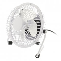 HQ FN04 WH Table Fan 10 cm 2.5 W Metal White