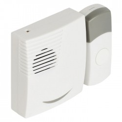 SVL-WDB 201 Wireless Doorbell Set Battery Powered 70 dB White/Grey