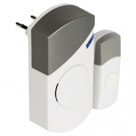 SVL-WDB301 Wireless Doorbell Set Mains Powered 70 dB White/Grey