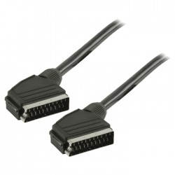 VLVT 31000B 5.00 SCART Cable Male - Male 5.00 m Black