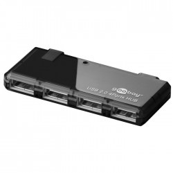 95670 4 PORT USB 2.0 HI-SPEED HUB BLACK