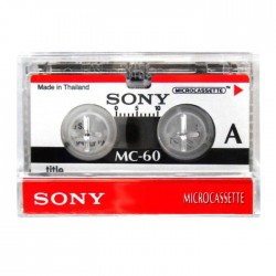 SONY MICROCASSETTE 60MIN 3 PACK / 3MC-60B