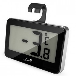 LIFE WES-104 Mini Thermometer Black